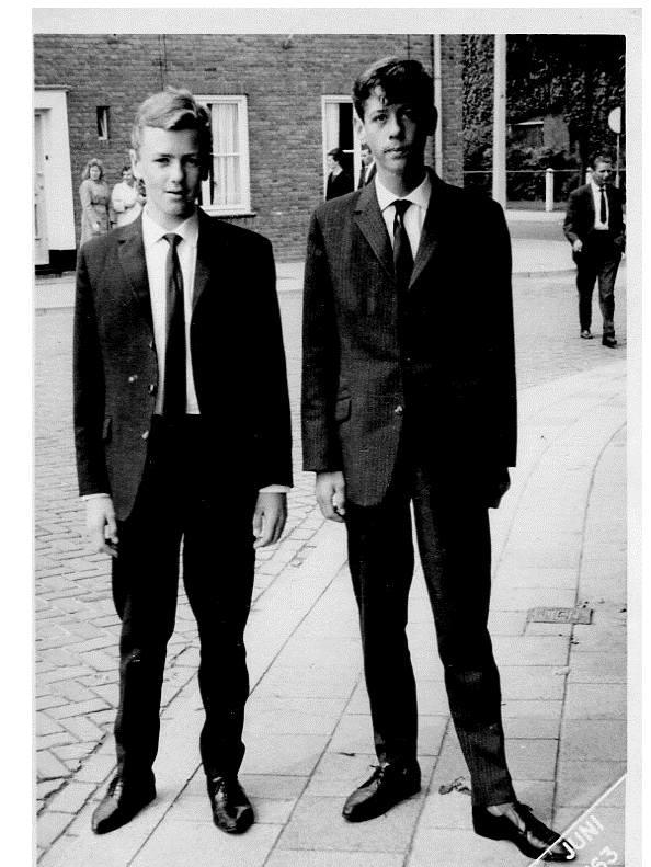 1963: met René van Lieshout op zoek naar de eerste grote liefde.