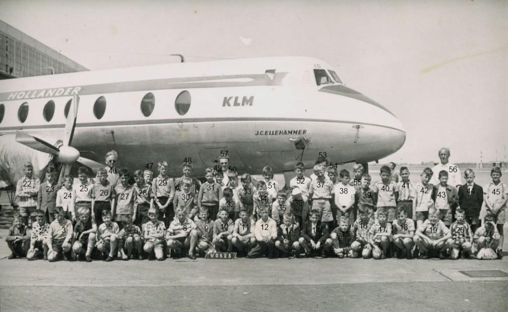 Schoolreisje 1959: AMSTERDAM